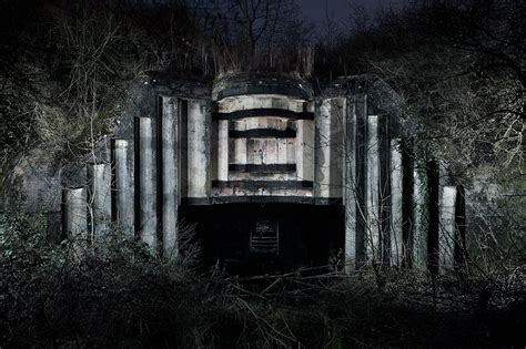 abandoned world abandoned world war ii bunkers provide a haunting look
