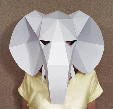 Etsy Bohemian Forver21 Butterfly Shape Decorated Simple Design Silver cabeza de elefante m 225 scara de creaci 243 n de papel diy pdf
