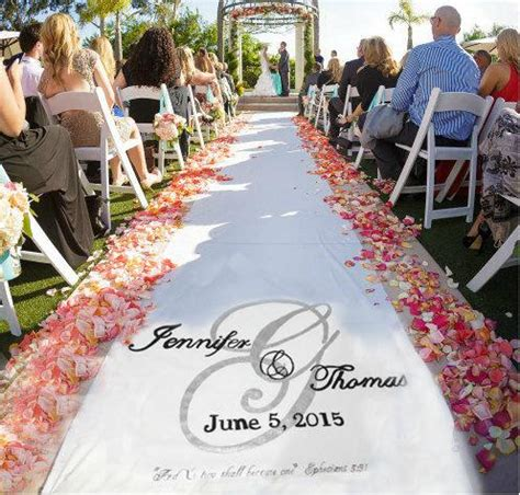 Wedding Aisle Runner Monogram by Wedding Aisle Runner Design Custom Logo Monogram