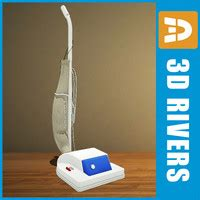 vacuum cleaner retro 3ds