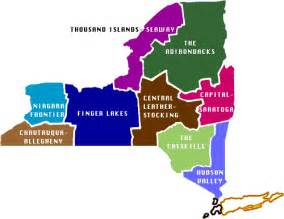 Up State New York Map by Upstate New York Regional Map