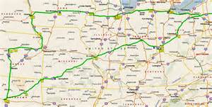 us highway map midwest where in the world is ian