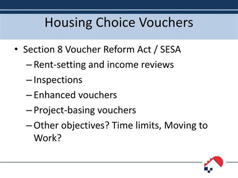 how do section 8 vouchers work ppt in statewide conference on housing community