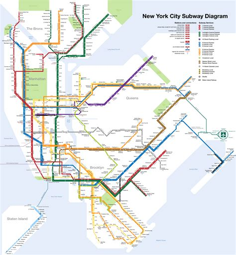 New York Subway Map With Streets by Studio Complutense 187 Subway Maps New York Subway This