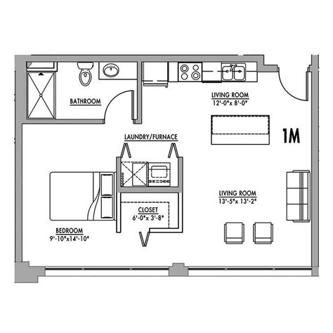 studio loft apartment floor plans floor plan 1m junior house lofts