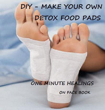 Make Your Own Detox by Http Www Ehow How 6179580 Make Own Detox Pads Html