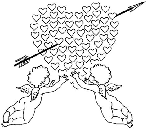 valentine angels coloring pages 2 baby angel for heart valentine coloring pages