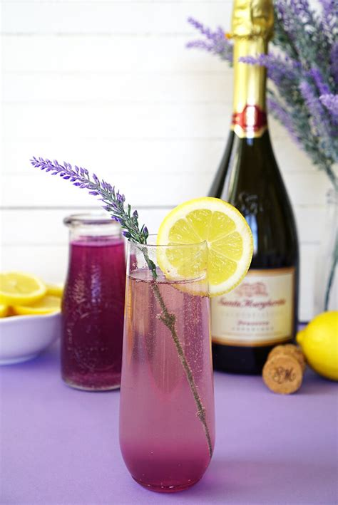lavender cocktail lavender lemonade prosecco cocktail happiness is homemade