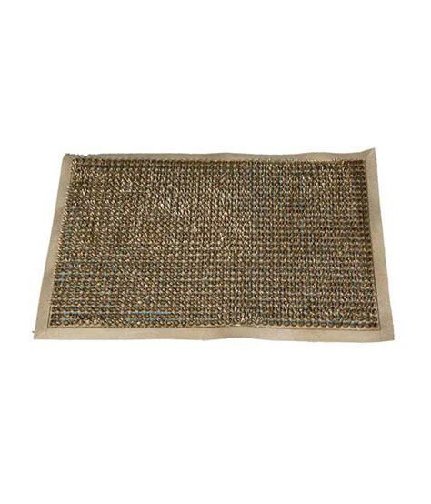 Plain Mats by Ritika Carpets Gray Plain Door Mat Buy Ritika Carpets