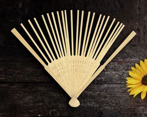 hand fan frame only bamboo hand fan frames set of 10
