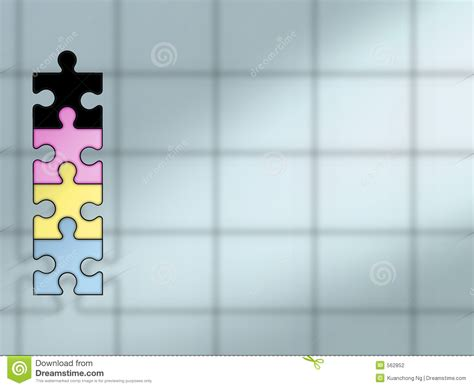 Cymk Puzzle | puzzle background cymk stock photography image 562852