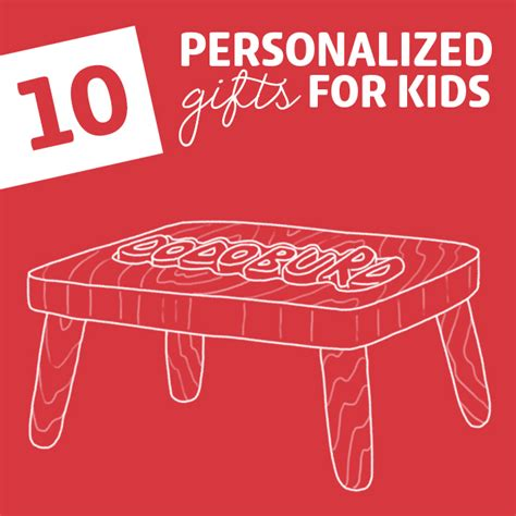 10 coolest personalized gifts for kids dodo burd