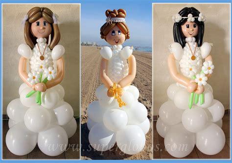 decoraciones de primera comunion en globos buscar con pasteles decora su de comuni 211 n con globos