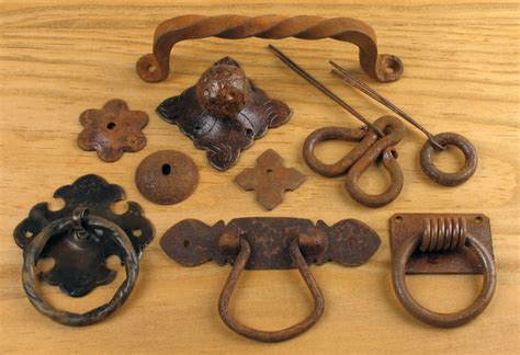 rustic iron handles drawer pulls knobs rustic