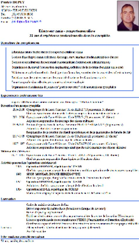 Lettre De Motivation De Moniteur Educateur Modele Cv Gratuit Moniteur Educateur Document