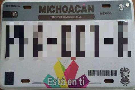 informacion pago de placas en michoacan 2016 newhairstylesformen2014 costo de placas para michoacan 2016 sustituye gobierno