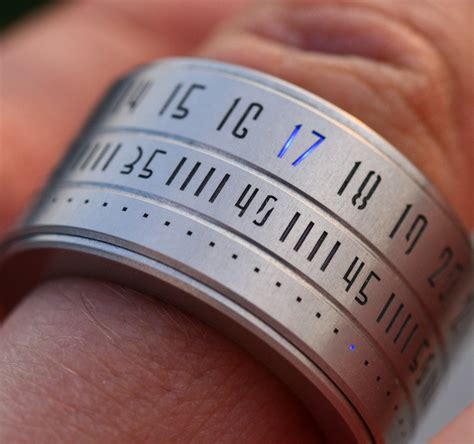 Rings In Time by Ring Clock Or Rather Ring Review Ablogtowatch