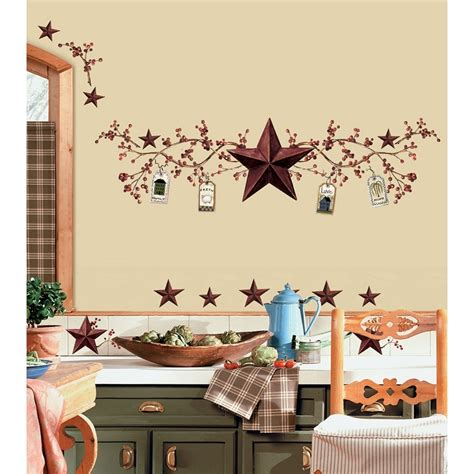 country kitchen wall decor ideas new stars berries wall decals country kitchen stickers