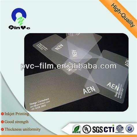 0 3mm Laminate Inkjet Plastic A4 Size White Pvc Inkjet
