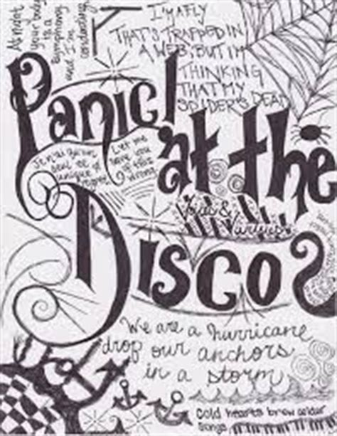 coloring book best lyrics 1000 images about panic at the disco on