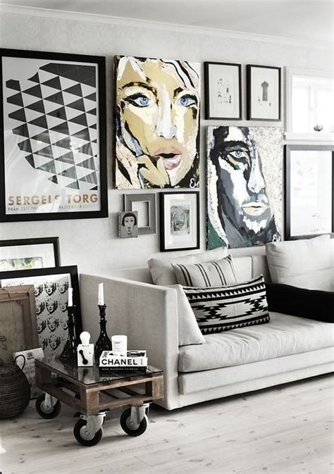 how to design a gallery wall white gallery wall living space