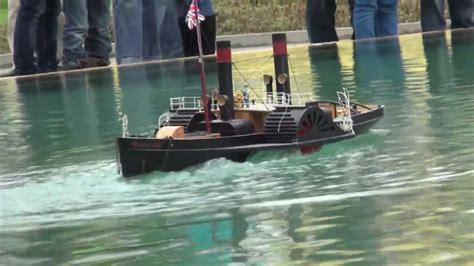 rc boats glasgow seitenraddfer side paddle steamer glasgow youtube