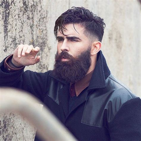 short hairstyles with full beard coolest hairstyles with full beards 2016 men s