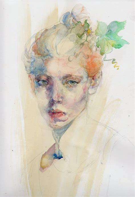 watercolor tutorial face watercolor portrait by konnova on deviantart