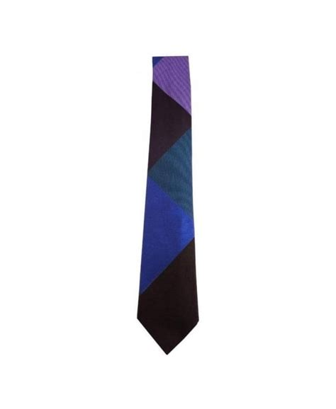 triangle pattern tie paul smith multi triangle polka dot reverse narrow tie