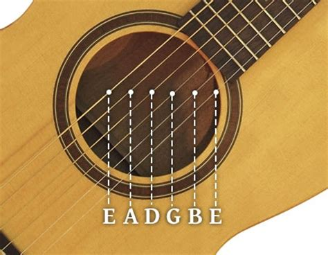 Guitar String - how to play acoustic guitar the beginner guide