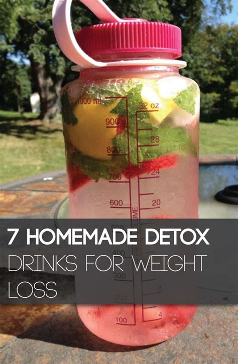 Detox Tea Weight Loss Diy by 7 Detox Drinks For Weight Loss Look