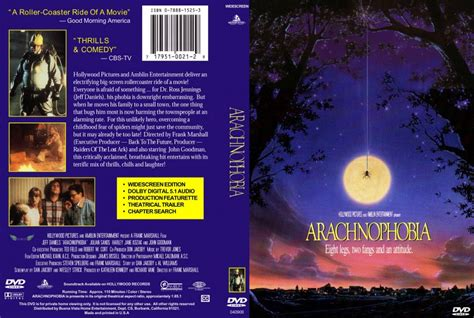 arachnophobia film blu ray unboxing arachnophobia movie dvd scanned covers 6arachnophobia