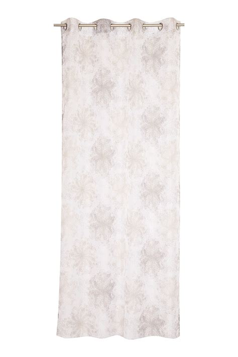 printed voile curtains esprit delicate printed voile eyelet curtain at our