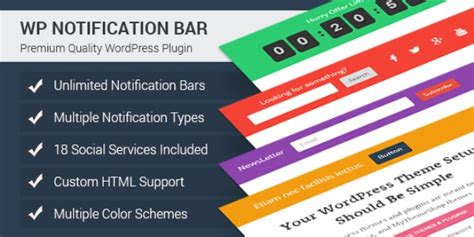 10 best wordpress notification bar plugins