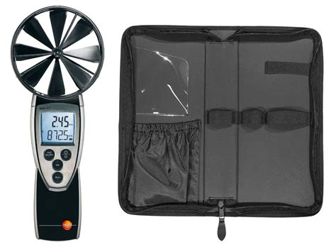 up in the air testo testo 417 kit rotating vane anemometer vane velocity