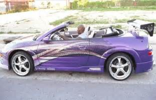 2 Fast 2 Furious Mitsubishi Eclipse Spyder Appeared In 2 Fast 2 Furious 2003