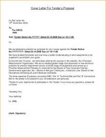 Sle Rfp Cover Letter by Rfp Cover Letter Sles 7 Cover Letter For