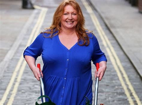Gardening pin up Charlie Dimmock returns after more than a