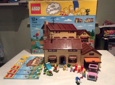 buy lego simpsons house lego simpsons house set 71006 for sale in clonsilla dublin from redvee