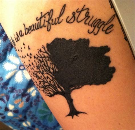 tattoo quotes life is beautiful tree tattoo tumblr love fitness things