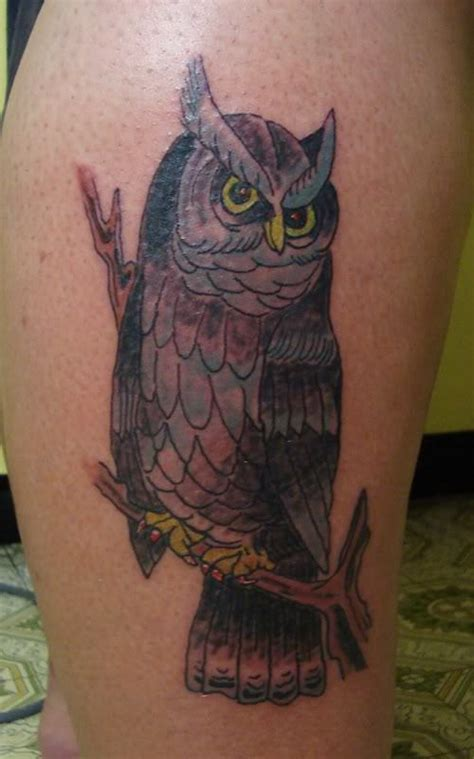 legs owl tattoo image 219991 on favim com owl tattoo on leg tattoo designs tattoo pictures