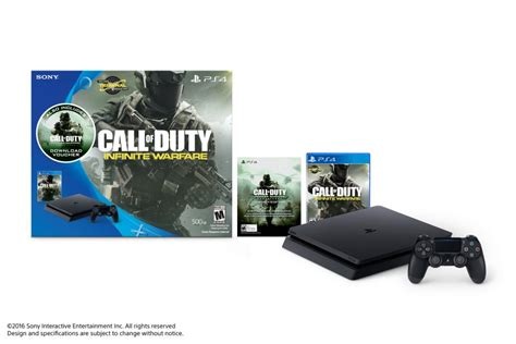 playstation 4 console bundles call of duty infinite warfare playstation 4 bundle