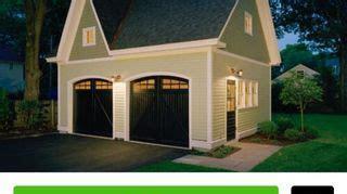 paint  garage doors black hometalk