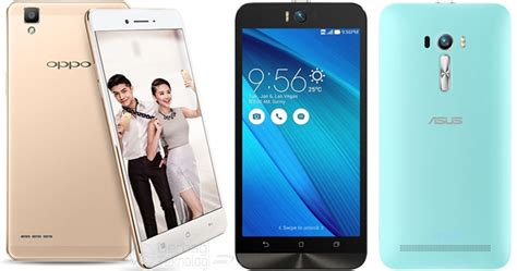 Hp Oppo F One perbandingan spesifikasi oppo f1 dengan zenfone selfie
