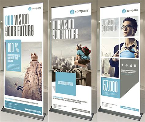 creative vertical banner design ideas design swan