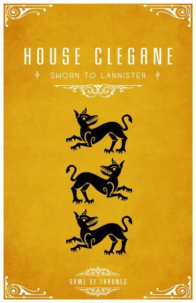 design game of thrones sigil house clegane by liquidsouldesign on deviantart