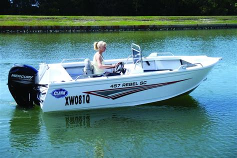 side console fishing boats clark boats releases new side console bush n beach