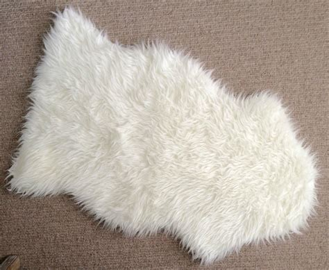 sheepskin ikea diy faux sheepskin pillow driven by decor