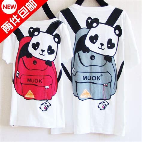 Kaos Sleeve Panda best friend shirt suit suits homes serving
