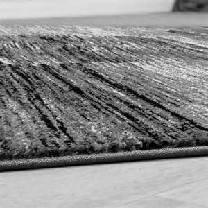 moderner teppich moderner wohnzimmer teppich grau schwarz anthrazit meliert